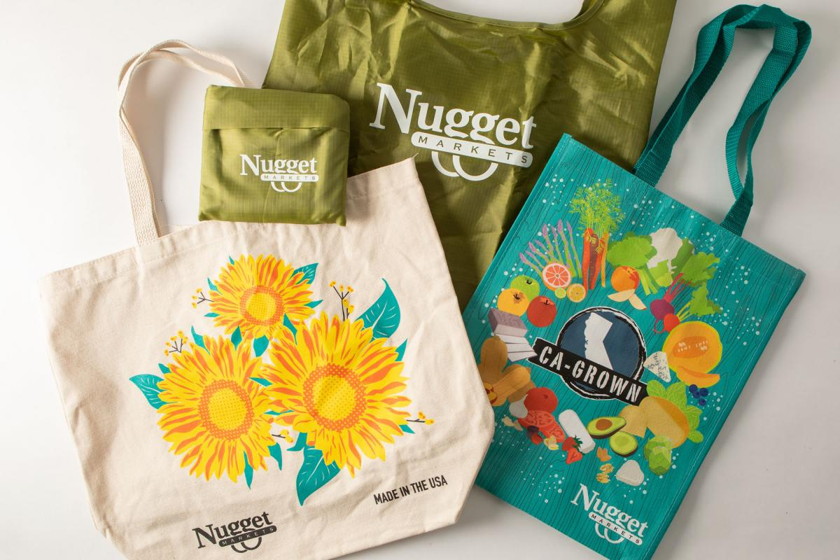 Choosing The Best Quality Reusable Grocery Bags With Better Space